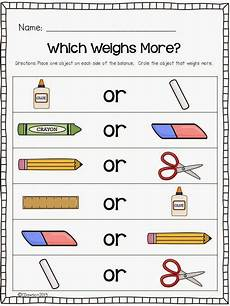 weight measurement worksheets for kindergarten 1854 keeping up with the kindergarteners let s talk about weight and a freebie measurement