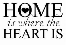 home is where the heart is svg file quote cut file