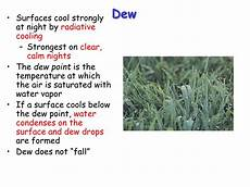 ppt condensation dew fog part 1 and clouds part 2 powerpoint presentation id 26765