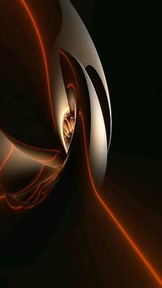 Orange Black Abstract Background Hd