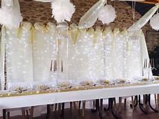 deco mariage blanc mariage blanc ivoire et or