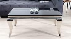 Table Basse De Salon Baroque En Verre Tremp 233 Zita