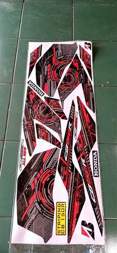 Striping Cb150r Variasi by Jual Striping Sticker Variasi Honda Cb150r All New Motif