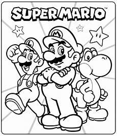 mario coloring page getcoloringpages