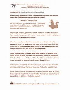 vocabulary worksheets basic english grammar 3rd edition chapter 9 expressing past tense part two