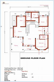 house plan dwg 3 bedroom home plan and elevation house design plans