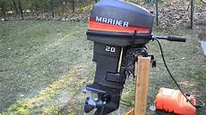 1989 mecury mariner 20hp outboard boat motor