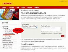 how to track my parcel using dhl reference code yuki