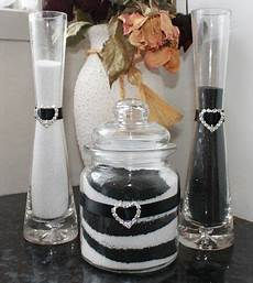 complete wedding sand ceremony kit colours table