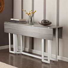 Apartment Furniture Kitchen Table by Martin Driness Drop Leaf Dining Console Table