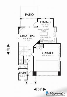 mascord house plans main floor plan of mascord plan 21124b the fernwood an