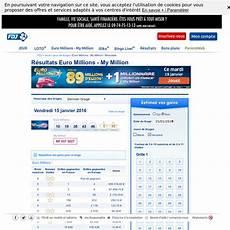 euromillion regle gain euromillions r 233 sultats fran 231 aise des jeux