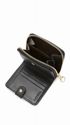 lyst see by chlo 233 small wallet in black