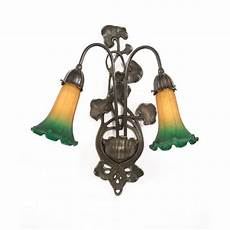 african wall lights uk art nouveau victorian or edwardian wall sconce green lily shades