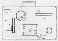 philip johnson glass house floor plan plan glass house from johnson 1950 157 as reprinted