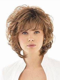 chin length layered wavy synthetic wigs with bangs best wigs online sale rewigs com