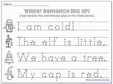 writing basic sentences worksheets 22123 12 best images of tracing sentences worksheets reading simple sentence kindergarten writing