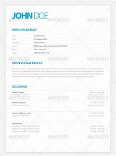 resume format resume template adobe indesign