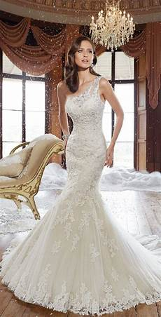 One Shoulder Wedding Gowns