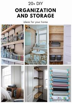 20 diy organization and storage ideas for your home the diy dreamer