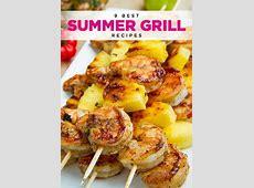 Grilled Jerk Shrimp and Pineapple Skewers   Recipe   Food