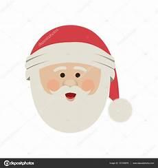silhouette der weihnachtsmann gesicht mit weihnachtsm 252 tze