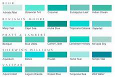blue color sle chart blue green paints green paint colors turquoise paint colors