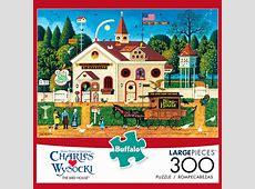Buffalo Games Charles Wysocki The Bird House 1000 Piece Jigsaw Puzzle Special Deals