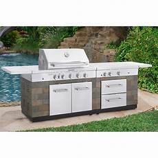 Gourmet Kitchen Appliances Costco by Kitchenaid 9 Burner Island Grill Outdoor Living Bbq