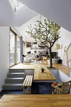 arbre d interieur design plus belles maisons de projet de hardel lebihan