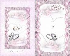 Carte Menu Mariage A Imprimer Gratuite Carterie Cartes