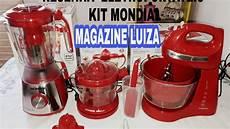 mondial de kit 3 em 1 mondial gourmet premium resenha testando os eletroportateis magazine luiza
