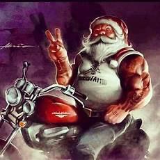 weihnachtsmann auf motorrad gif biker santa harley davidson motorcycles harley davison