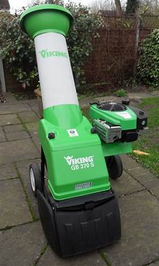 viking gb 370 s petrol chipper shredder in bicester