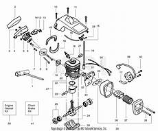 Poulan Craftsman 358 351162 Gas Chain Saw Parts Diagram