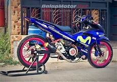 Modifikasi Mx King by Modifikasi Yamaha Mx King Racing Style Crt Bandung