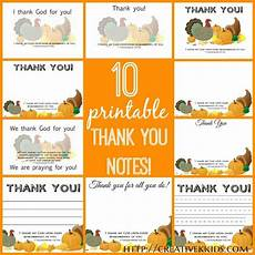 Thanksgiving Note Card For Teachers Template by Thankful Thoughts Printable Thank You Notes
