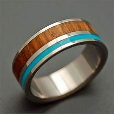 wooded cove wooden wedding rings by minterandrichterdes etsy