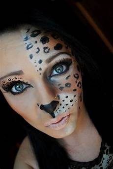 katze schminken erwachsene schminke frauen tiere leoparden h 228 lfte gesicht
