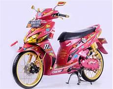 Variasi Motor Matic by 90 Gambar Modifikasi Honda Vario Airbrush Keren Terbaru