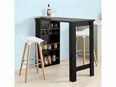 table cuisine avec rangement table de bar mange debout table haute de cuisine avec 3