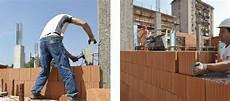 muratura in laterizio monostrato con blocchi rettificati