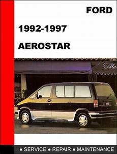 online auto repair manual 1996 ford aerostar transmission control ford aerostar 1992 to 1997 factory workshop service repair manual