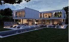 perspective 3d d une villa 224 lyon pour l agence philippe