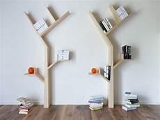 etagere bois forme arbre