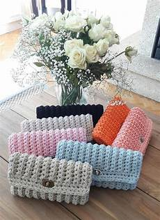 tuto pochette crochet facile comment crochet clutch