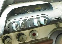 1960 DeSoto Pushbutton Controls For 2 Speed Automatic