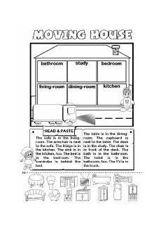 places in the house worksheets 15999 worksheet moving house rooms and furniture prep con im 225 genes actividades de