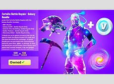 FINALLY.. New GALAXY SKIN BUNDLE in Fortnite!   YouTube