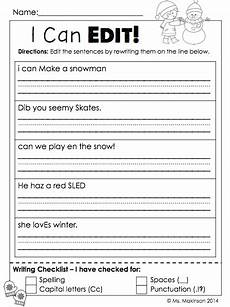 writing simple sentences worksheets 1st grade 22232 january printables grade literacy and math with images grade writing